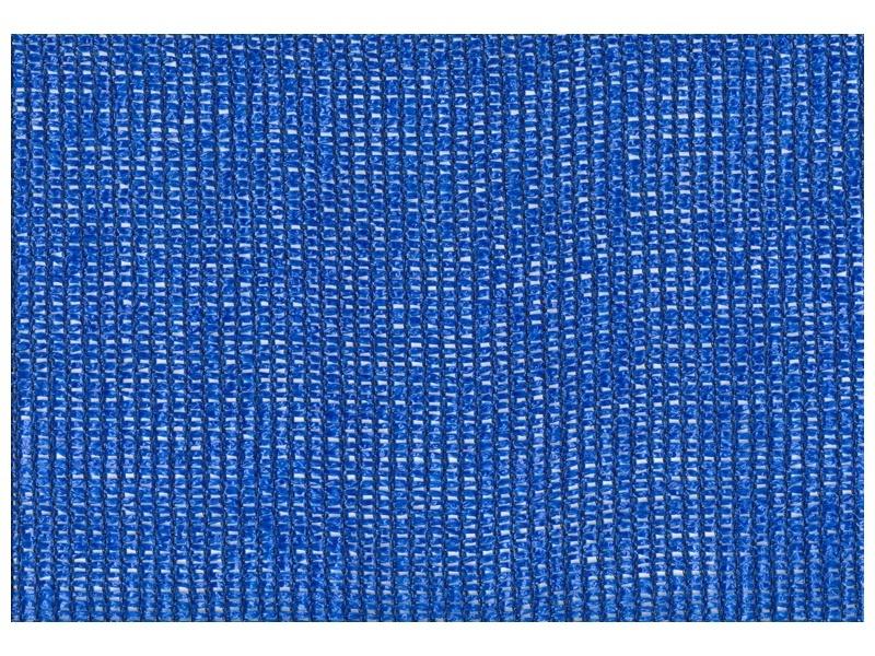 Bouwhek winddoek blauw 1.80 x 3.45 m