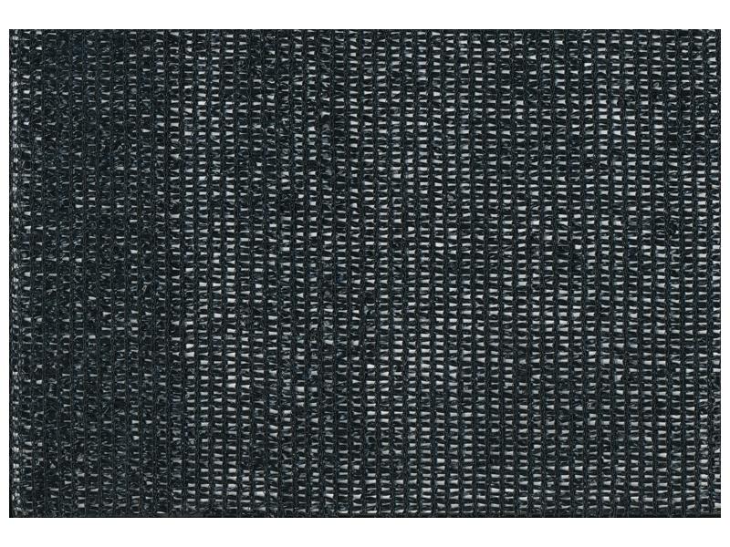 Bouwhek winddoek zwart 1.80 x 3.45 m