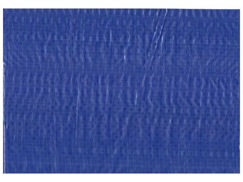 Bouwhekdoek blauw 1.76 x 3.41m