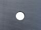Loopschot kunststof 2 x 0.80m  15mm