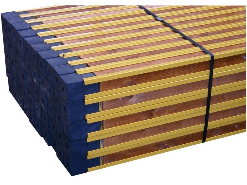 Metselprofiel alu/hout UNI65 360 cm