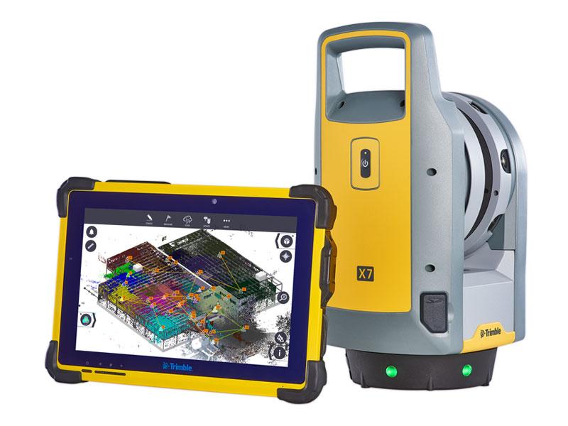 3D-laserscanner Trimble X7