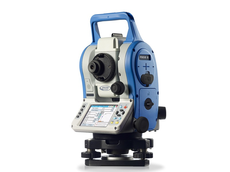 Total Station Spectra Precision Focus 8