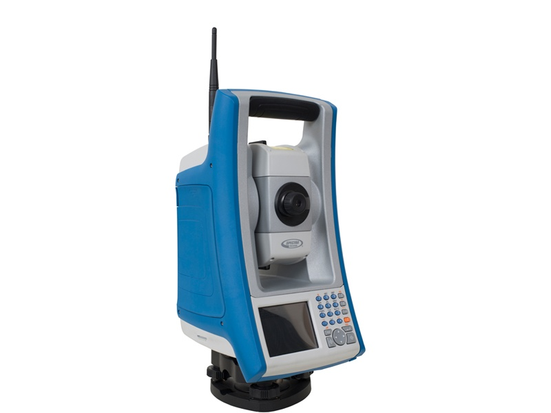 Total Station uitzetrobot Spectra Precision Focus 35
