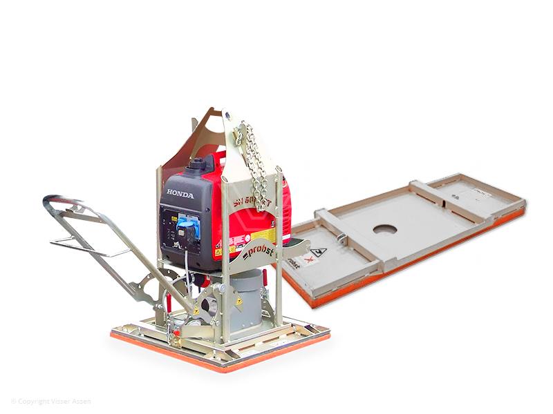 Tegeltiller Probst vacuüm QuickJet QJ-600e met aggregaat en zuigplaat