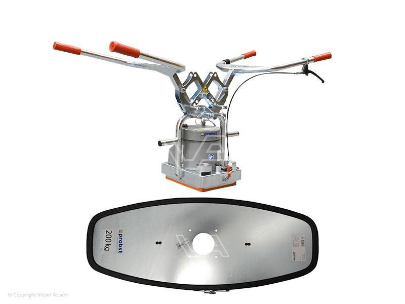 Tegeltiller Probst vacuüm Speedy snelwissel 50 + 200 kg