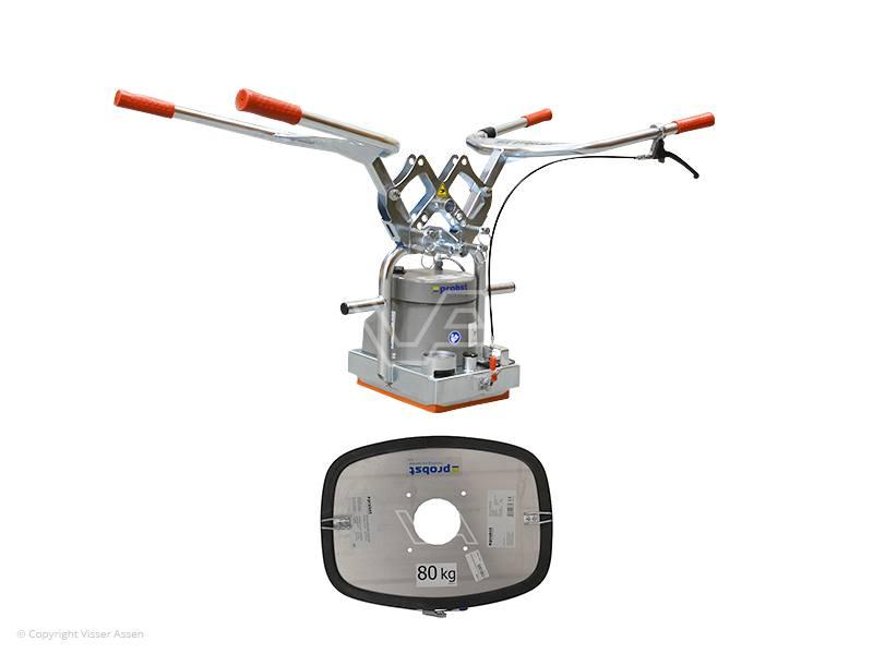 Tegeltiller Probst vacuüm Speedy snelwissel 50 + 80 kg