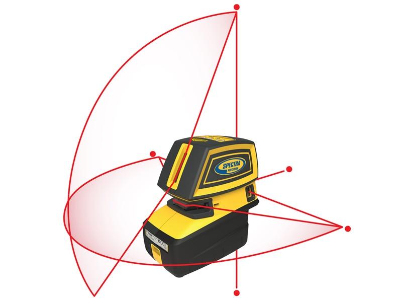 Spectra Precision LT52 punt- en kruislijnlaser