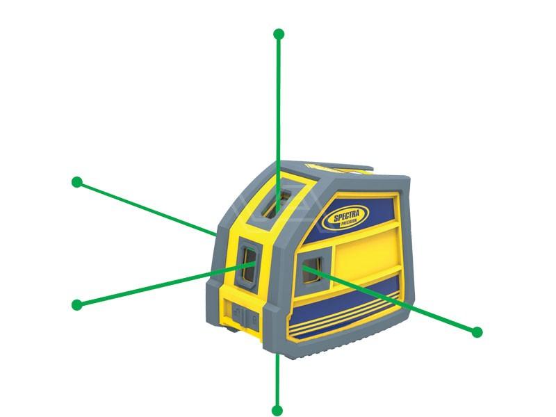 Puntlaser Spectra LP51G laserpointer groen