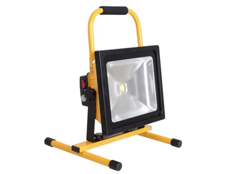 Bekend LED-bouwlamp 50 Watt op accu klasse 3 | Bouwplaats-Inrichting.nl LG63