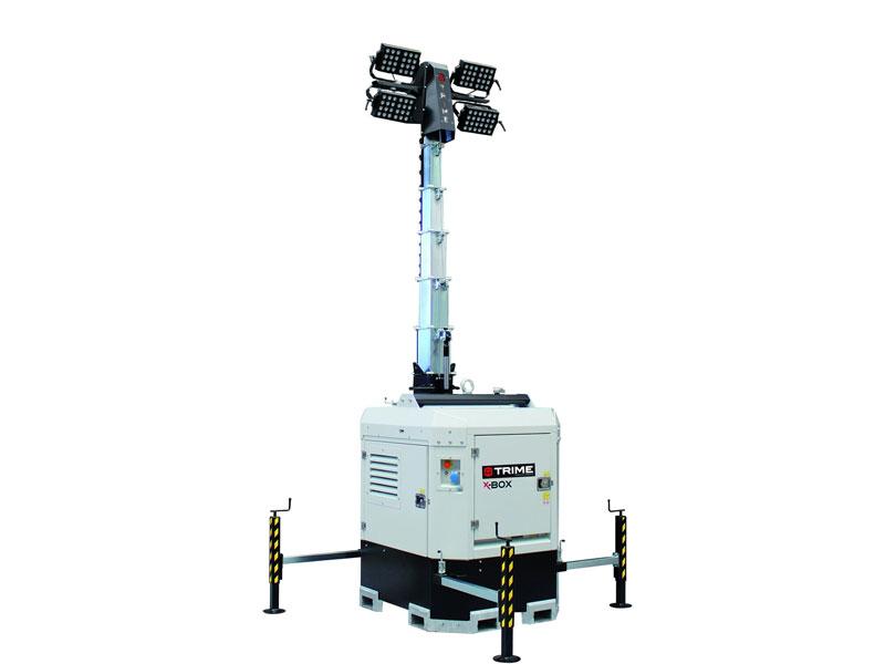 Lichtmast X-Box 4 x 300 Watt LED