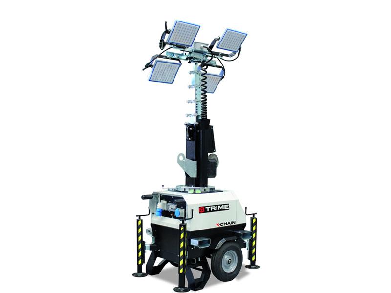 Lichtmast X-Chain 4 x 150 Watt LED