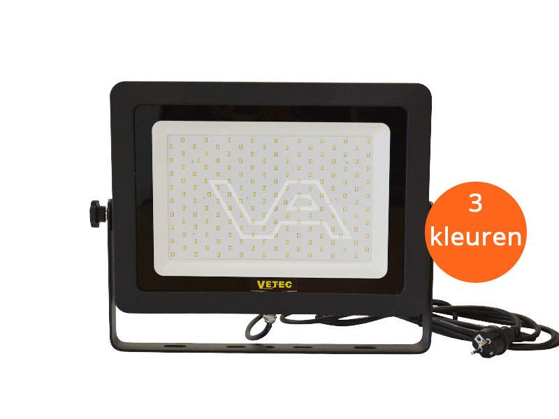 LED-bouwlamp Vetec 150 W klasse I 3 kleuren