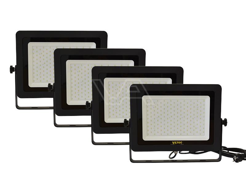 LED-bouwlamp Vetec 150 W 4 stuks klasse I