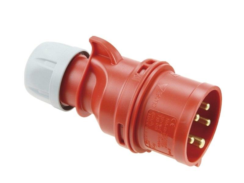 Stekker 400V 16A 5-polig