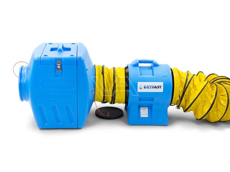 Stofafzuigset DAF3000FB met filterbox Dryfast