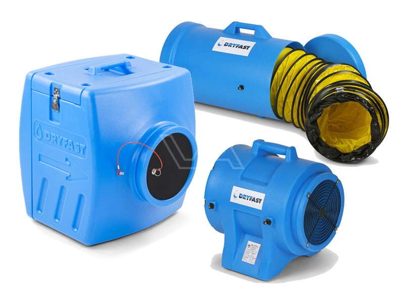 Stofafzuigset DAF3900FB met filterbox Dryfast