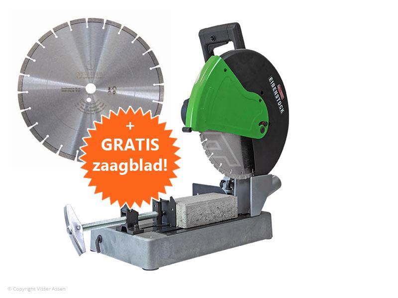 Steenzaagmachine Eibenstock EST 350.2   + 1 extra zaagblad