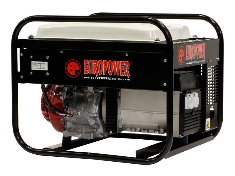 Aggregaat Europower EP6000-25 geluidsarm