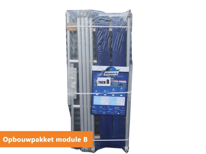 Opbouwpakket kamersteiger Alumexx Eco-line B