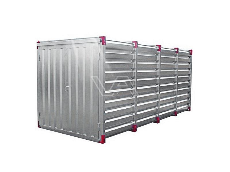 Materiaalcontainer 5 meter demontabel