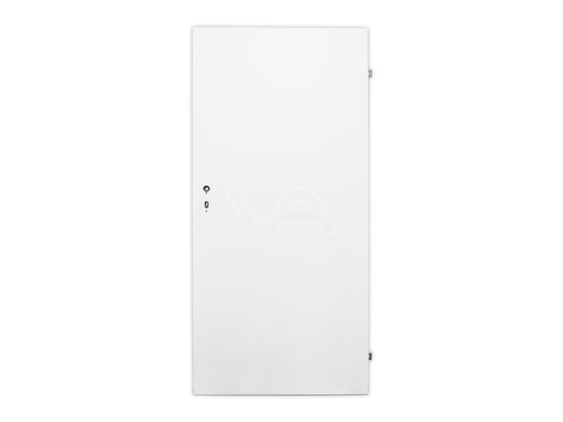 Schaftkeet deur wit