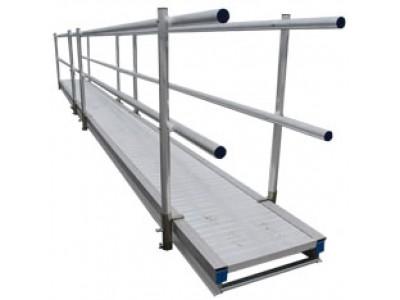 Loopbruggen aluminium