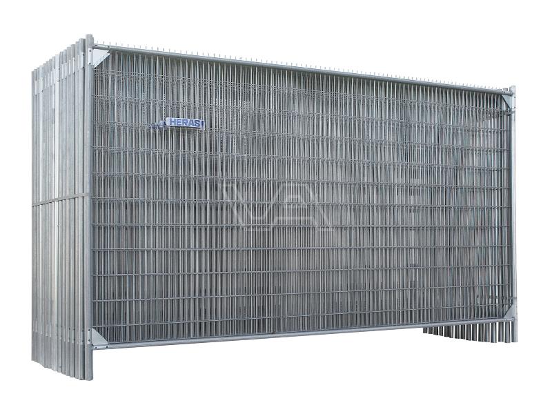 Bouwhekken bundel 33 x M500 AntiClimb versterkt + klem & voet