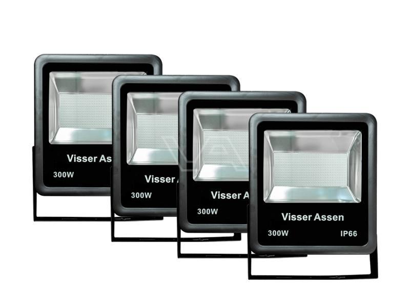 LED-bouwlamp VANI 300 W klasse I | 4 stuks