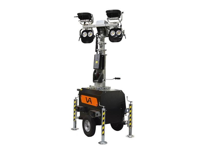 Lichtmast VA Premium 4 x 150 Watt LED 4000 K