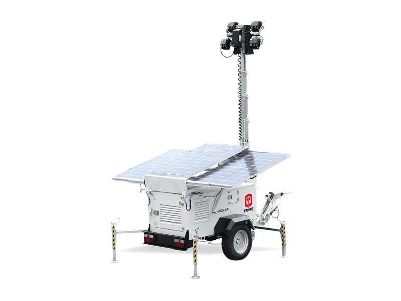 Lichtmast X-Solar Hybrid 4 x 100 Watt LED
