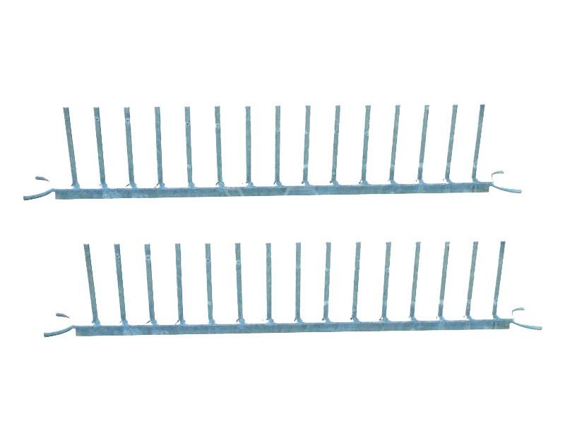 Oplatter voor steigerplanken | 2 stuks