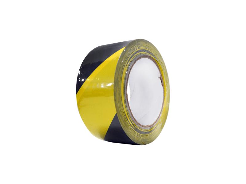PVC vloermarkeringstape geel-zwart