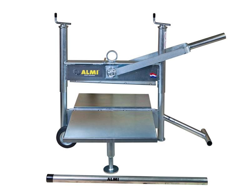 Steenknipper Almi AL43UT met grote draagplaten