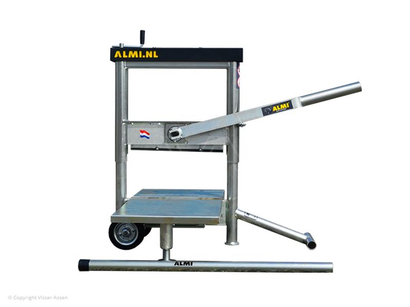 Steenknipper Almi AL43UT Easy met grote draagplaten
