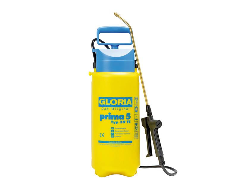 Druksproeier met schouderriem Gloria Prima 5 liter