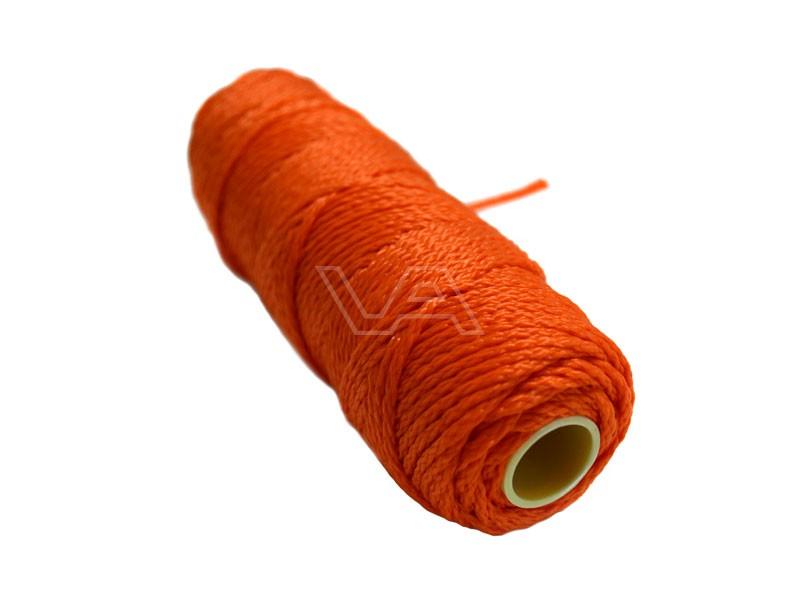 Metselkoord / Uitzetdraad gevlochten oranje