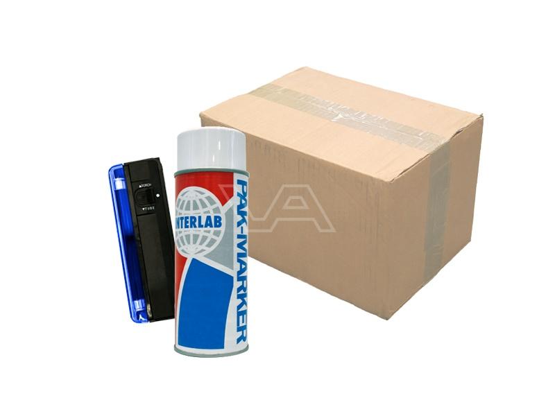 PAK-marker 400 ml DOOS 12 stuks + UV-lampje