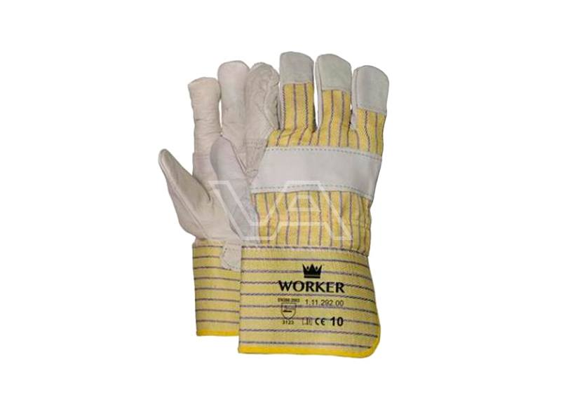 Werkhandschoen Worker nerfleder