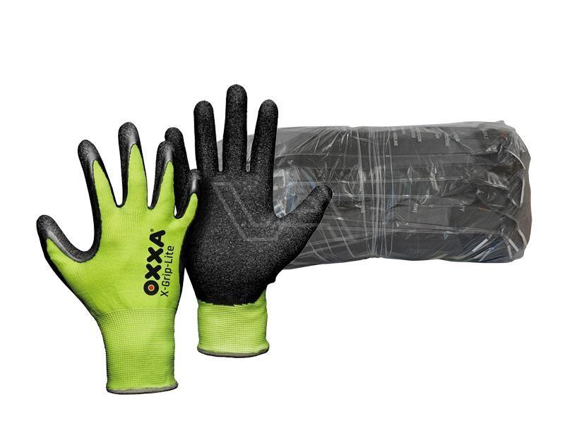 Werkhandschoen Oxxa X-Grip-Lite Bundel à 12 paar