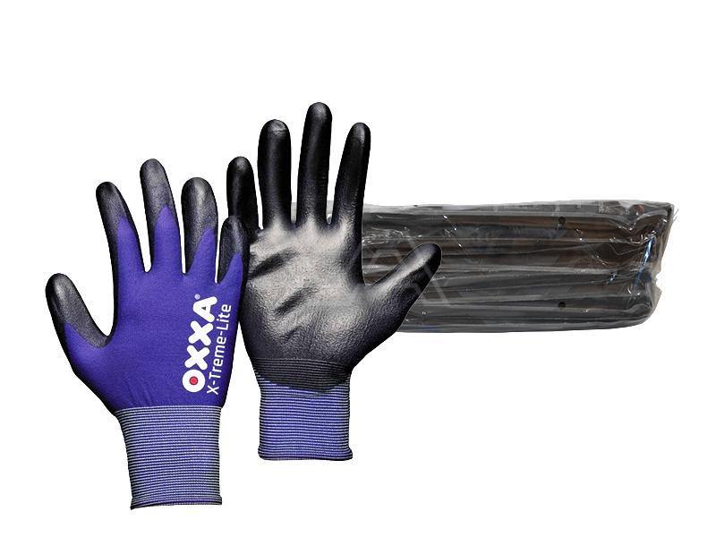 Werkhandschoen Oxxa X-Treme-Lite Bundel à 12 paar