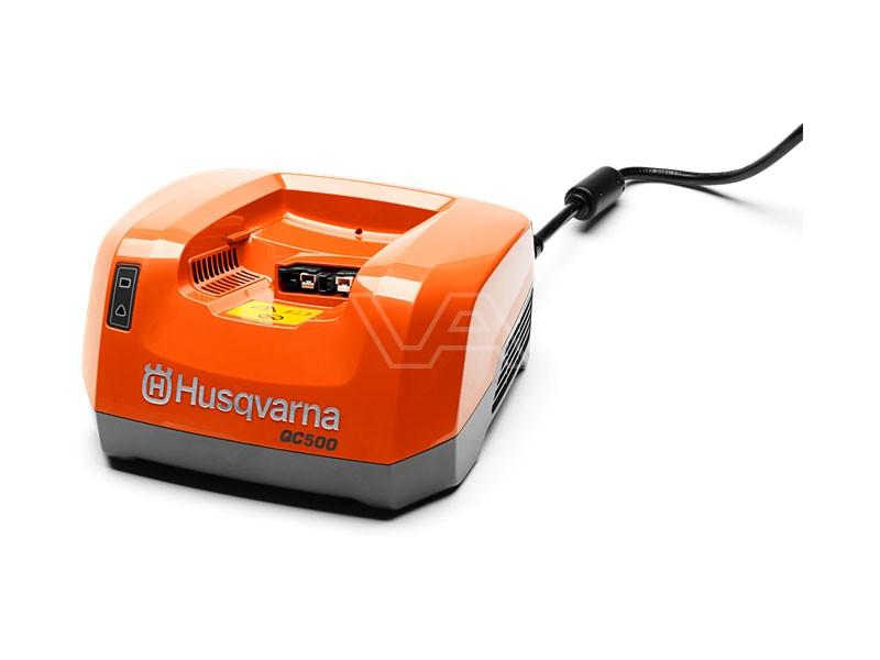 Husqvarna accu snellader QC500 500 watt