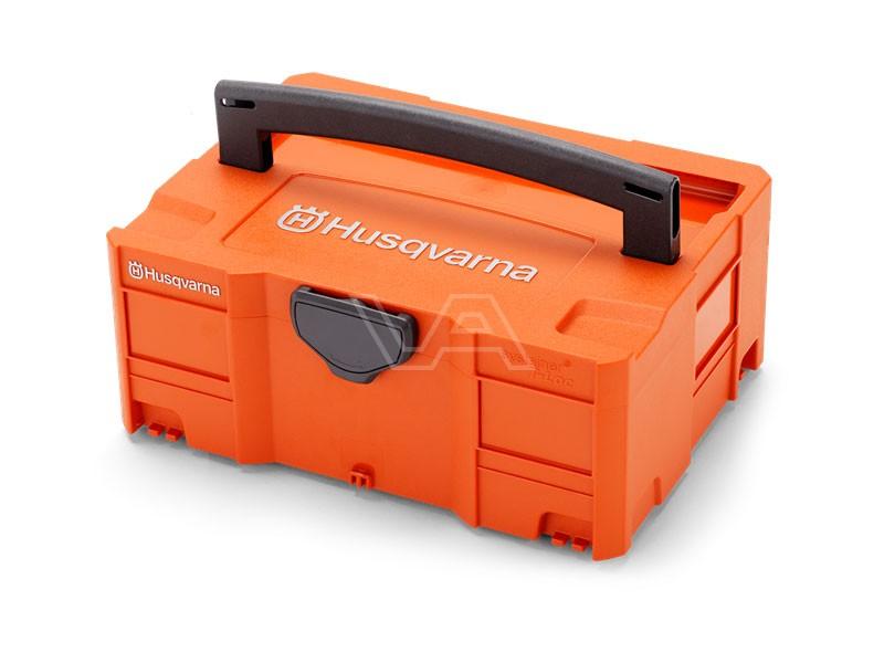 Husqvarna transportbox accu's en accessoires