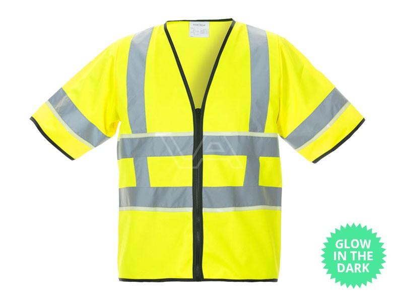 Veiligheidshesje RWS Glow-in-the-Dark Iphofen geel