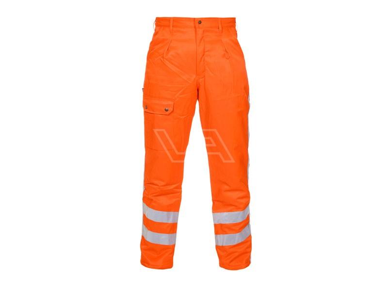 Werkbroek winter RWS Andorra oranje