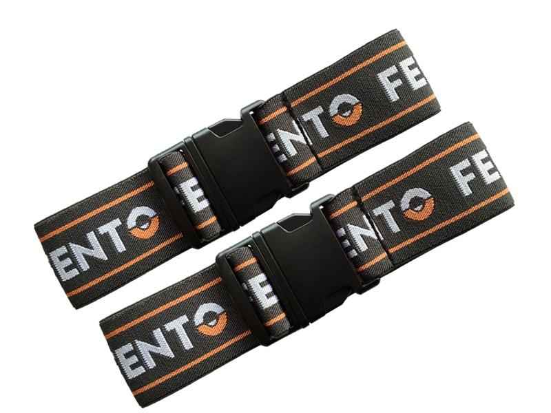 Set elastieken met clip voor Fento FKP 150 kniebeschermer