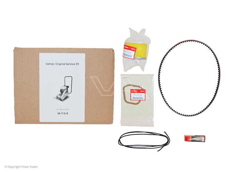 Trilplaat onderhoudsset Samac T15 t/m TR35 Benzine