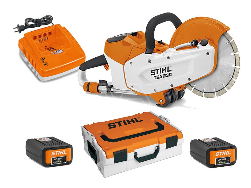 Bandenzaag Stihl accuslijper TSA 230 + PowerBox Advance