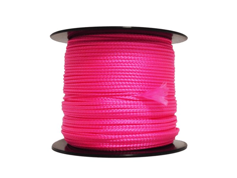 Metselkoord / Uitzetdraad fluor roze 2.0 mm 100 m