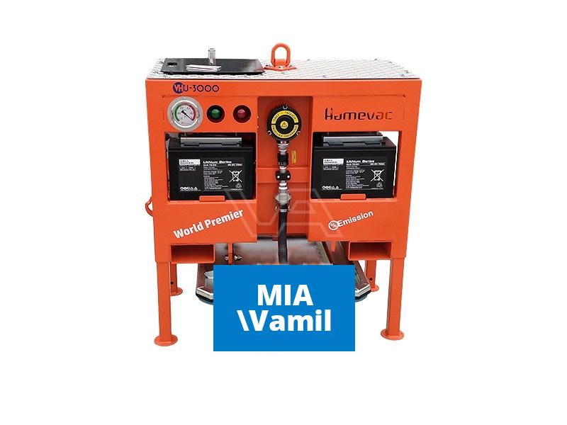 Vacuüm hijsunit Hamevac VHU-3000-AR op accu | Radiobediend